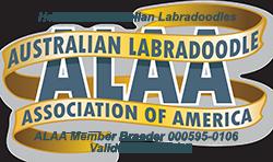 Heartland Australian Labradoodles ALAA Logo